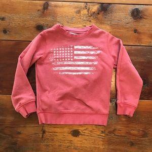 Boys Zara Flag Sweatshirt